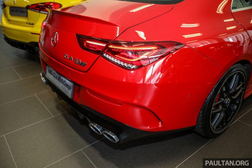GALERI: Mercedes-AMG CLA45 S 4Matic+ di Malaysia – RM448,888, 2.0L turbo 421 PS/500 Nm dan Drift Mode Image #1124867