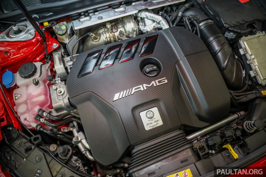GALERI: Mercedes-AMG CLA45 S 4Matic+ di Malaysia – RM448,888, 2.0L turbo 421 PS/500 Nm dan Drift Mode Image #1124873