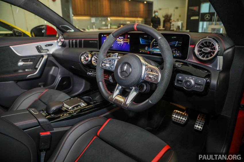 GALERI: Mercedes-AMG CLA45 S 4Matic+ di Malaysia – RM448,888, 2.0L turbo 421 PS/500 Nm dan Drift Mode Image #1124876
