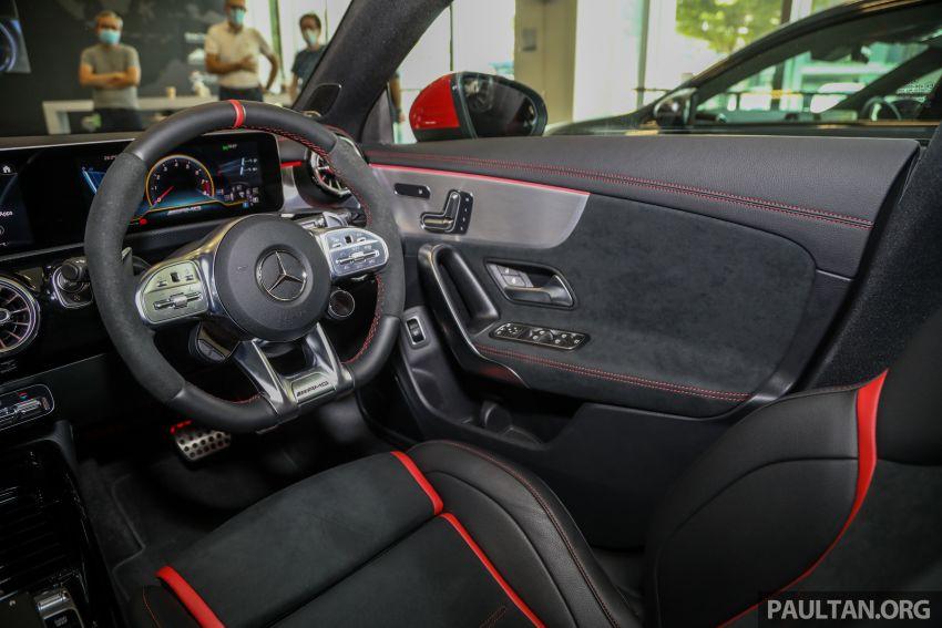 GALERI: Mercedes-AMG CLA45 S 4Matic+ di Malaysia – RM448,888, 2.0L turbo 421 PS/500 Nm dan Drift Mode Image #1124901
