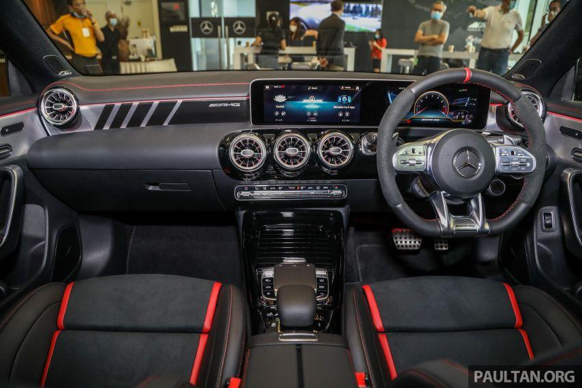 GALERI: Mercedes-AMG CLA45 S 4Matic+ di Malaysia – RM448,888, 2.0L turbo 421 PS/500 Nm dan Drift Mode Image #1124877