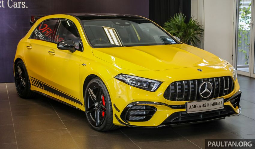 GALLERY: W177 Mercedes-AMG A45S 4Matic+ Edition 1 now in Malaysia – 0-100 km/h in 3.9 secs, RM460k Image #1125007