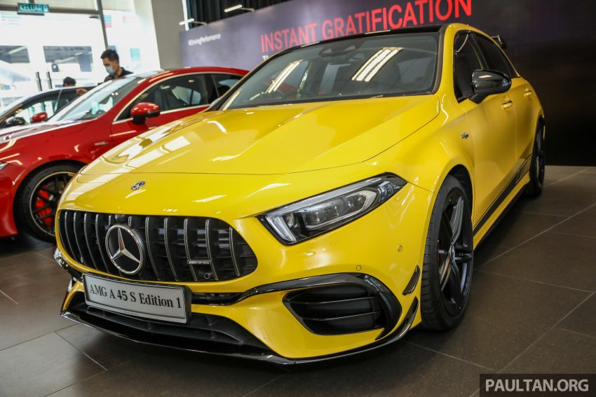 GALLERY: W177 Mercedes-AMG A45S 4Matic+ Edition 1 now in Malaysia – 0-100 km/h in 3.9 secs, RM460k Image #1125009