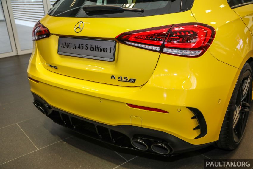 GALLERY: W177 Mercedes-AMG A45S 4Matic+ Edition 1 now in Malaysia – 0-100 km/h in 3.9 secs, RM460k Image #1125038