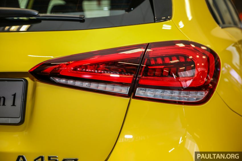 GALLERY: W177 Mercedes-AMG A45S 4Matic+ Edition 1 now in Malaysia – 0-100 km/h in 3.9 secs, RM460k Image #1125039