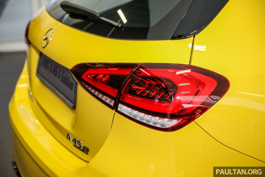 GALLERY: W177 Mercedes-AMG A45S 4Matic+ Edition 1 now in Malaysia – 0-100 km/h in 3.9 secs, RM460k Image #1125040