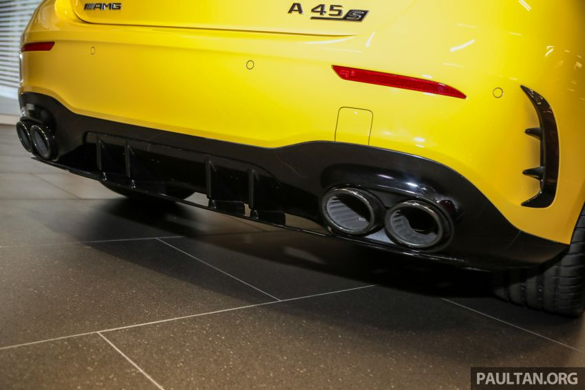 GALLERY: W177 Mercedes-AMG A45S 4Matic+ Edition 1 now in Malaysia – 0-100 km/h in 3.9 secs, RM460k Image #1125042