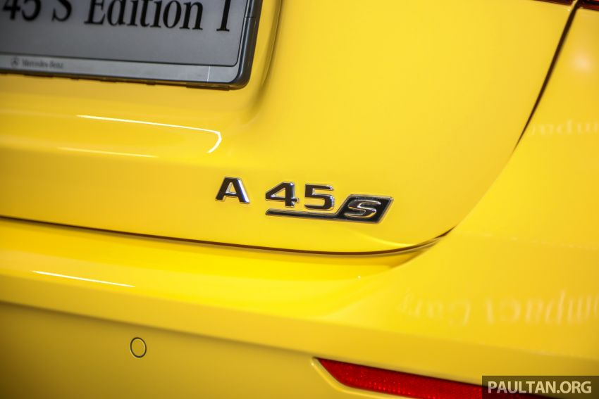 GALLERY: W177 Mercedes-AMG A45S 4Matic+ Edition 1 now in Malaysia – 0-100 km/h in 3.9 secs, RM460k Image #1125044