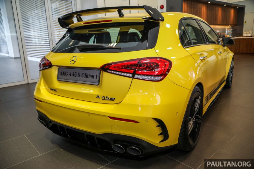 GALLERY: W177 Mercedes-AMG A45S 4Matic+ Edition 1 now in Malaysia – 0-100 km/h in 3.9 secs, RM460k Image #1125013