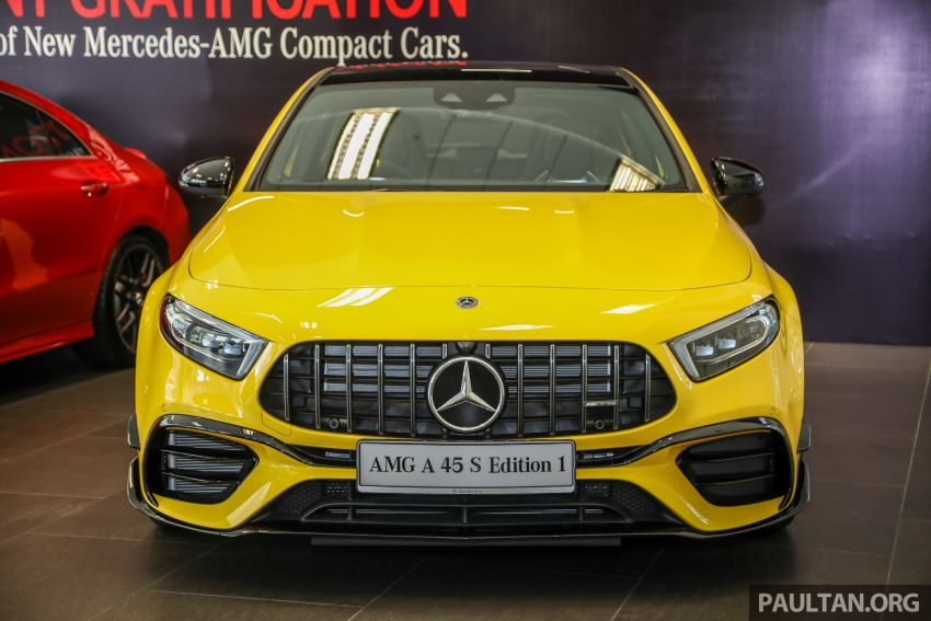 GALLERY: W177 Mercedes-AMG A45S 4Matic+ Edition 1 now in Malaysia – 0-100 km/h in 3.9 secs, RM460k Image #1125016