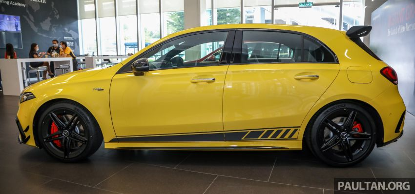 GALLERY: W177 Mercedes-AMG A45S 4Matic+ Edition 1 now in Malaysia – 0-100 km/h in 3.9 secs, RM460k Image #1125017