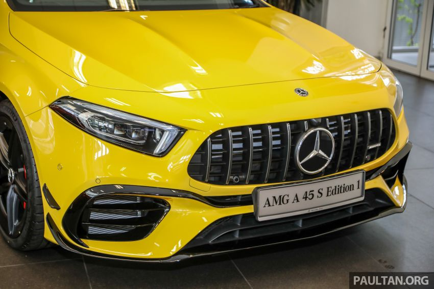 GALLERY: W177 Mercedes-AMG A45S 4Matic+ Edition 1 now in Malaysia – 0-100 km/h in 3.9 secs, RM460k Image #1125018