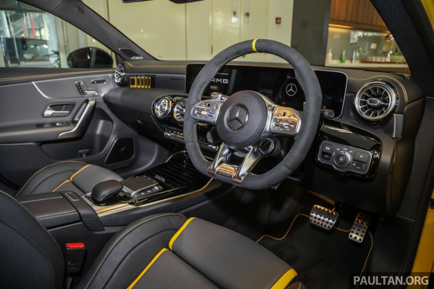 GALLERY: W177 Mercedes-AMG A45S 4Matic+ Edition 1 now in Malaysia – 0-100 km/h in 3.9 secs, RM460k Image #1125053