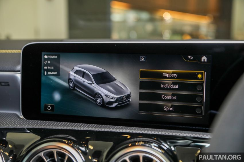 GALLERY: W177 Mercedes-AMG A45S 4Matic+ Edition 1 now in Malaysia – 0-100 km/h in 3.9 secs, RM460k Image #1125063