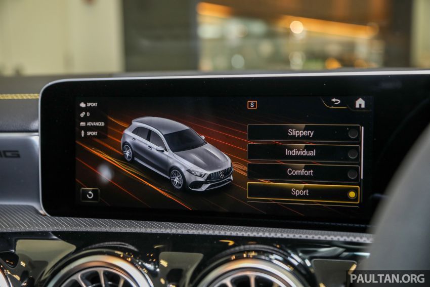 GALLERY: W177 Mercedes-AMG A45S 4Matic+ Edition 1 now in Malaysia – 0-100 km/h in 3.9 secs, RM460k Image #1125066