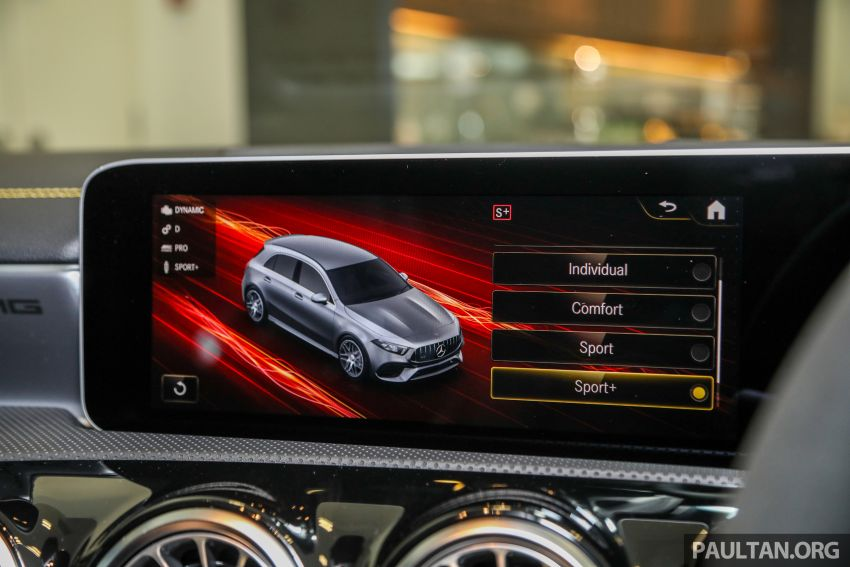 GALLERY: W177 Mercedes-AMG A45S 4Matic+ Edition 1 now in Malaysia – 0-100 km/h in 3.9 secs, RM460k Image #1125068