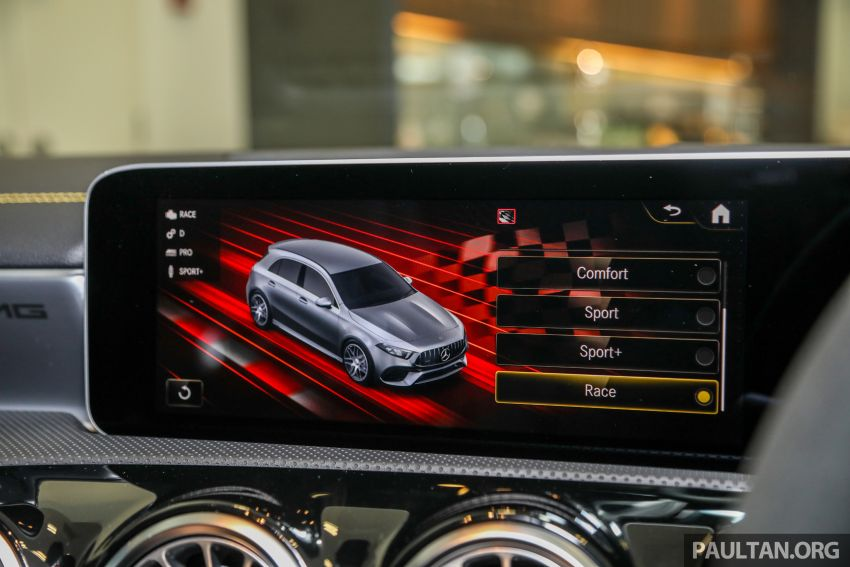 GALLERY: W177 Mercedes-AMG A45S 4Matic+ Edition 1 now in Malaysia – 0-100 km/h in 3.9 secs, RM460k Image #1125069