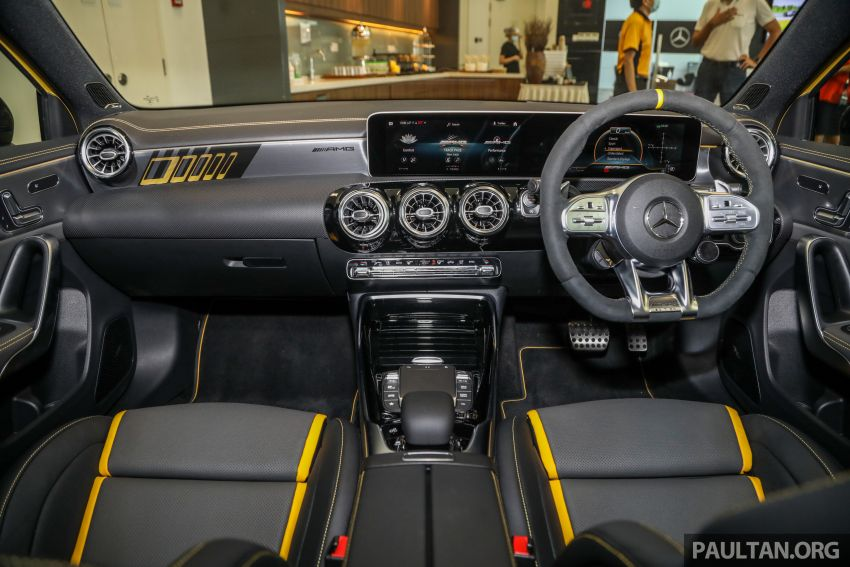 GALLERY: W177 Mercedes-AMG A45S 4Matic+ Edition 1 now in Malaysia – 0-100 km/h in 3.9 secs, RM460k Image #1125054