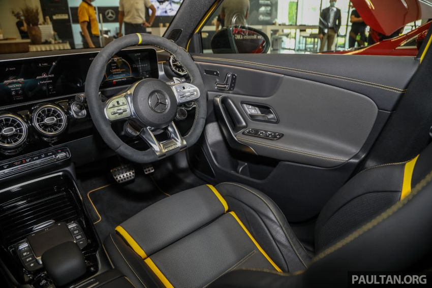 GALLERY: W177 Mercedes-AMG A45S 4Matic+ Edition 1 now in Malaysia – 0-100 km/h in 3.9 secs, RM460k Image #1125083