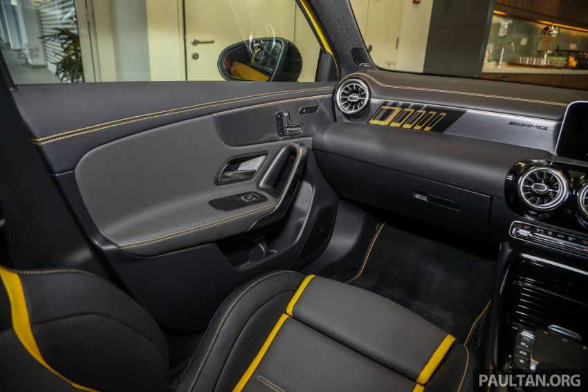 GALLERY: W177 Mercedes-AMG A45S 4Matic+ Edition 1 now in Malaysia – 0-100 km/h in 3.9 secs, RM460k Image #1125084