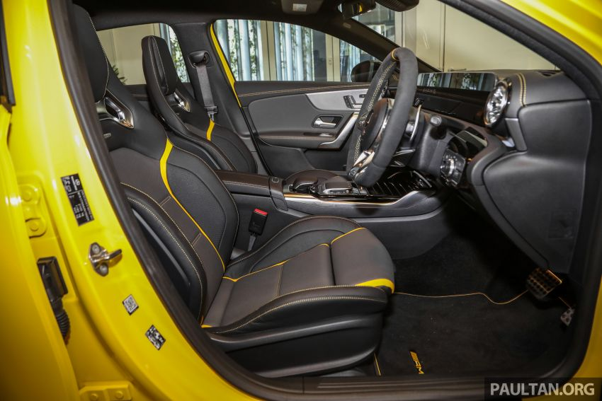 GALLERY: W177 Mercedes-AMG A45S 4Matic+ Edition 1 now in Malaysia – 0-100 km/h in 3.9 secs, RM460k Image #1125089