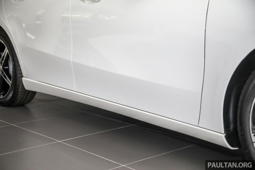 GALLERY: V177 Mercedes-Benz A-Class Sedan in Malaysia – A250 AMG Line vs A200 Progressive Line Image #1128770
