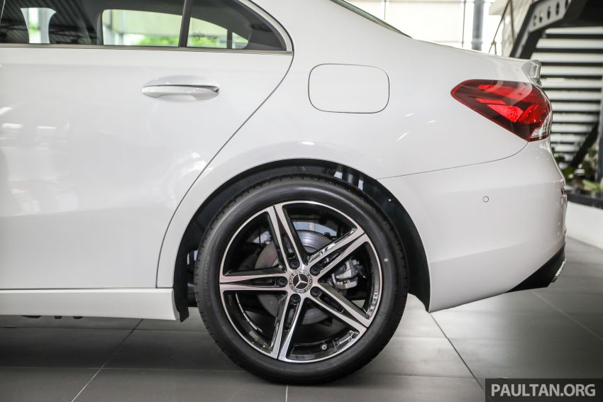 GALLERY: V177 Mercedes-Benz A-Class Sedan in Malaysia – A250 AMG Line vs A200 Progressive Line Image #1128771
