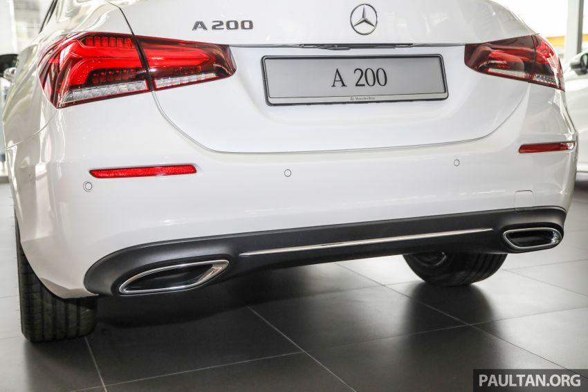 GALLERY: V177 Mercedes-Benz A-Class Sedan in Malaysia – A250 AMG Line vs A200 Progressive Line Image #1128777