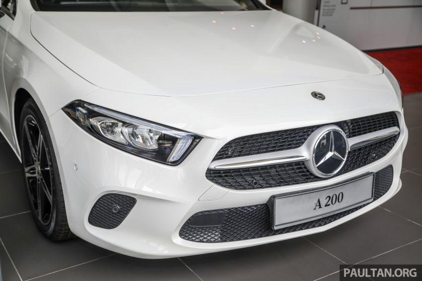 GALLERY: V177 Mercedes-Benz A-Class Sedan in Malaysia – A250 AMG Line vs A200 Progressive Line Image #1128762