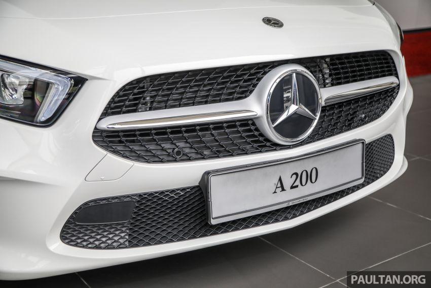 GALLERY: V177 Mercedes-Benz A-Class Sedan in Malaysia – A250 AMG Line vs A200 Progressive Line Image #1128766