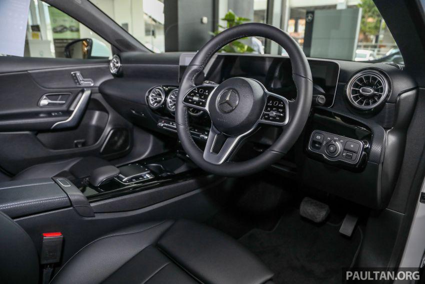GALLERY: V177 Mercedes-Benz A-Class Sedan in Malaysia – A250 AMG Line vs A200 Progressive Line Image #1128780