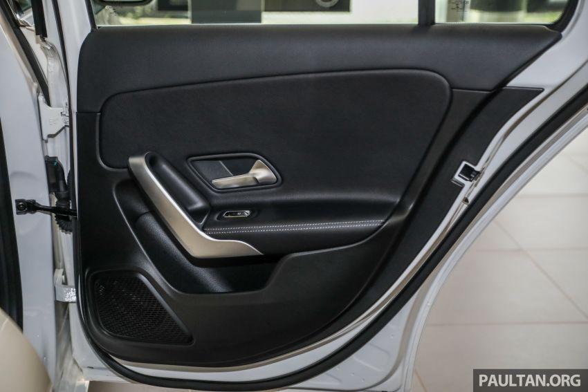 GALLERY: V177 Mercedes-Benz A-Class Sedan in Malaysia – A250 AMG Line vs A200 Progressive Line Image #1128788
