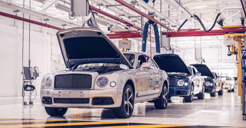 Bentley Mulsanne – final unit rolls off production line Image #1136302