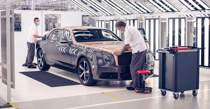 Bentley Mulsanne – final unit rolls off production line Image #1136309
