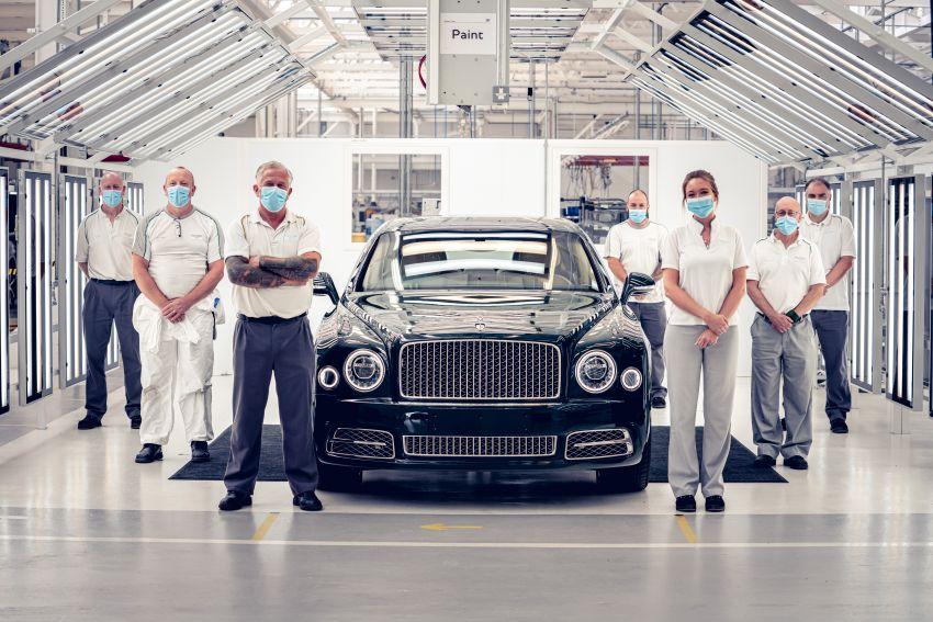 Bentley Mulsanne – final unit rolls off production line Image #1136304