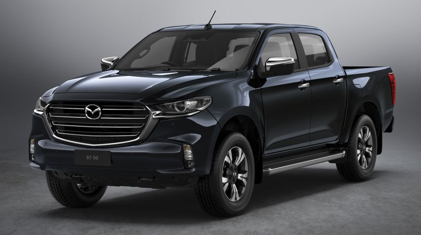 All-new Mazda BT-50 pick-up truck revealed – Kodo design on Isuzu D-Max base, unique dashboard Image #1131636