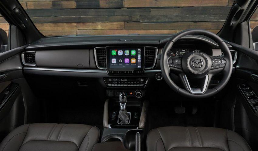 Mazda BT-50 serba baru didedahkan — Isuzu D-Max dengan 'kulit' Kodo Design, papan pemuka berbeza Image #1131738