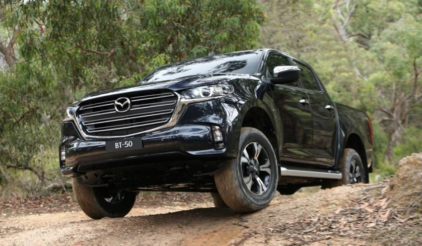 All-new Mazda BT-50 pick-up truck revealed – Kodo design on Isuzu D-Max base, unique dashboard Image #1131699