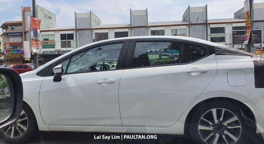 SPYSHOTS: 2020 Nissan Almera seen once more in KL Image #1133006