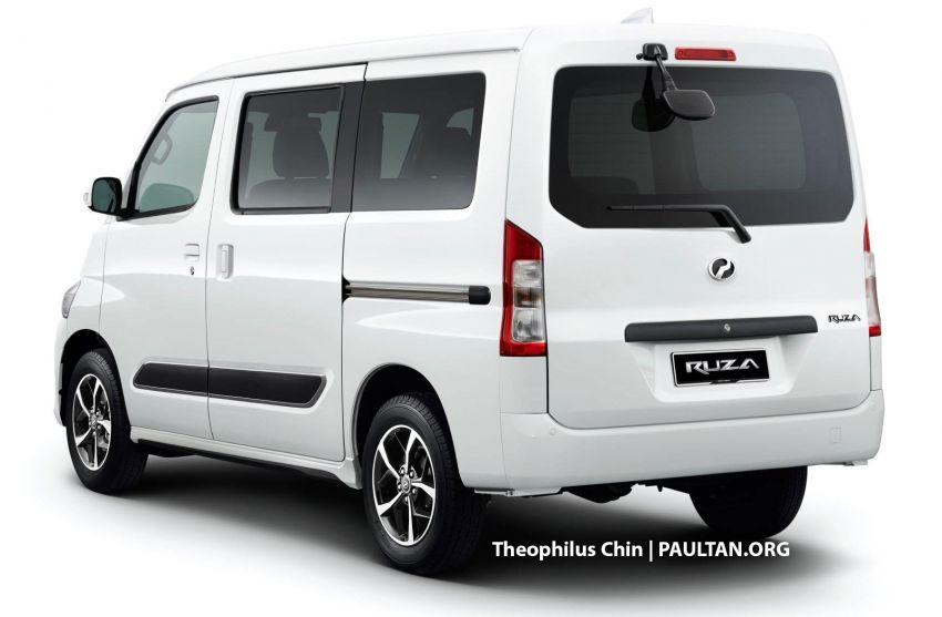 Perodua Ruza van – Daihatsu Gran Max-based render Image #1137526