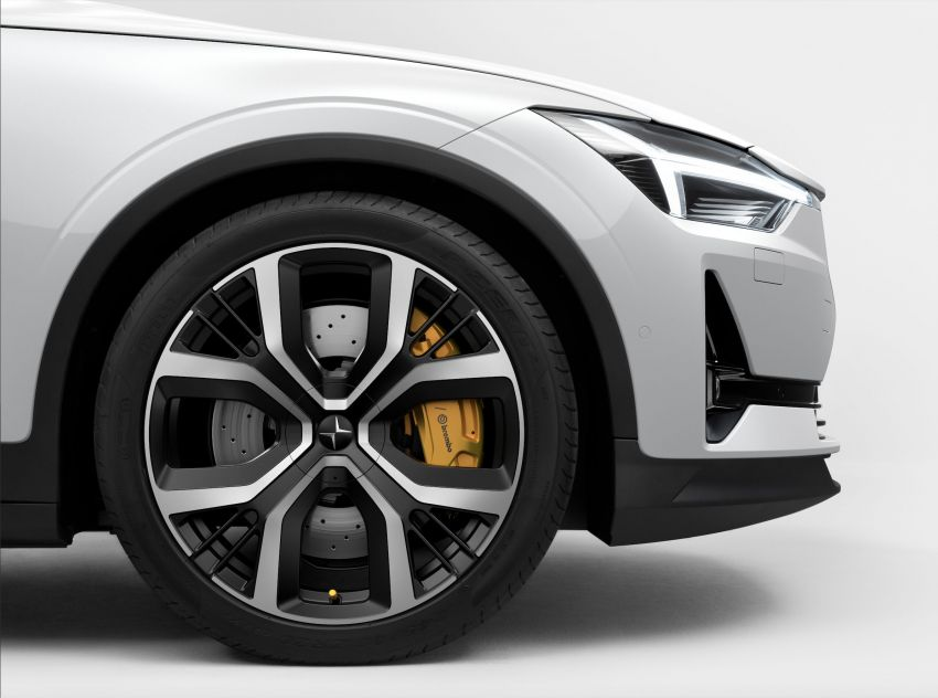 Polestar 2 with Performance Pack upgrade – Öhlins dampers, Brembo brakes, 20-inch forged wheels Image #1136079
