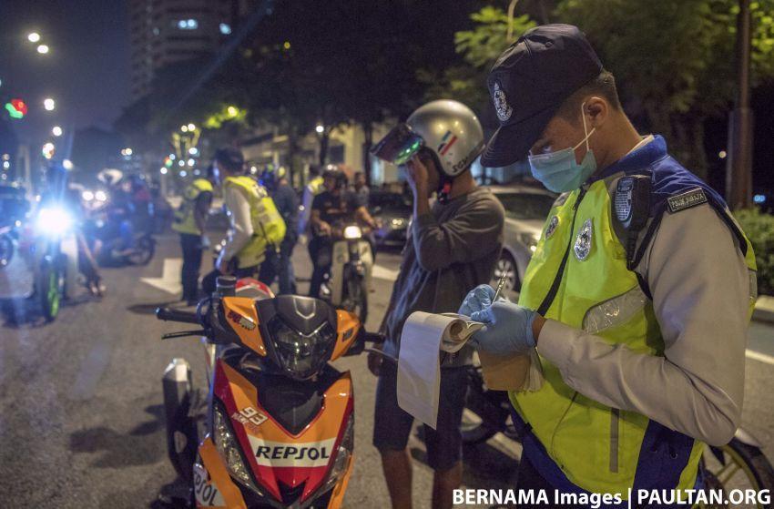 PKPP: Polis keluarkan 80,950 saman 8 hari pertama Image #1133098