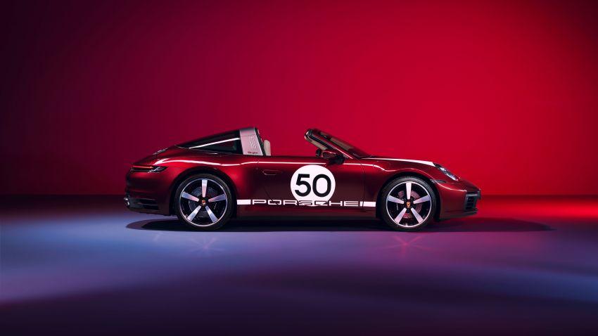 Porsche 911 Targa 4S Heritage Design Edition – 992 units, part of four-model heritage line-up to come Image #1124629