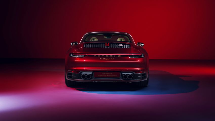 Porsche 911 Targa 4S Heritage Design Edition – 992 units, part of four-model heritage line-up to come Image #1124627