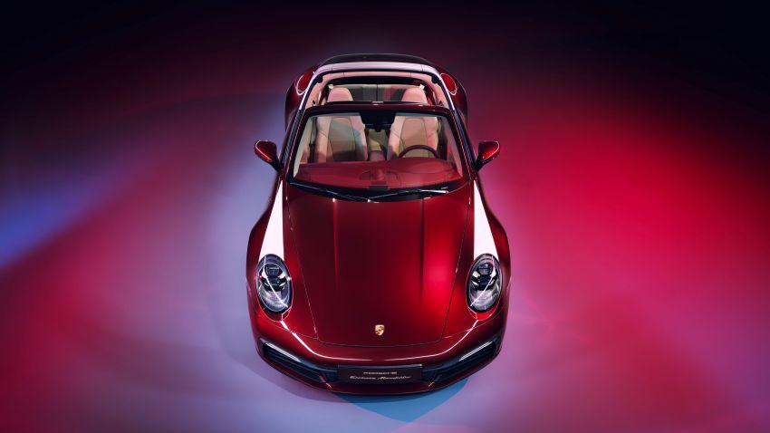 Porsche 911 Targa 4S Heritage Design Edition – 992 units, part of four-model heritage line-up to come Image #1124626