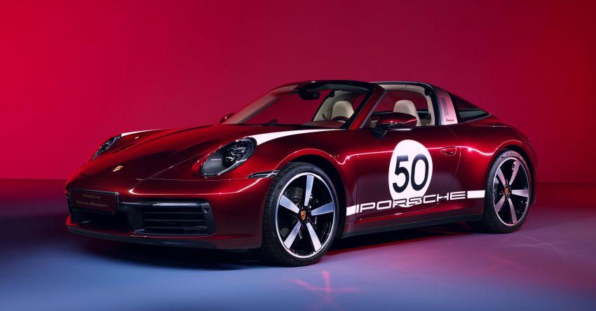 Porsche 911 Targa 4S Heritage Design Edition – 992 units, part of four-model heritage line-up to come Image #1124623