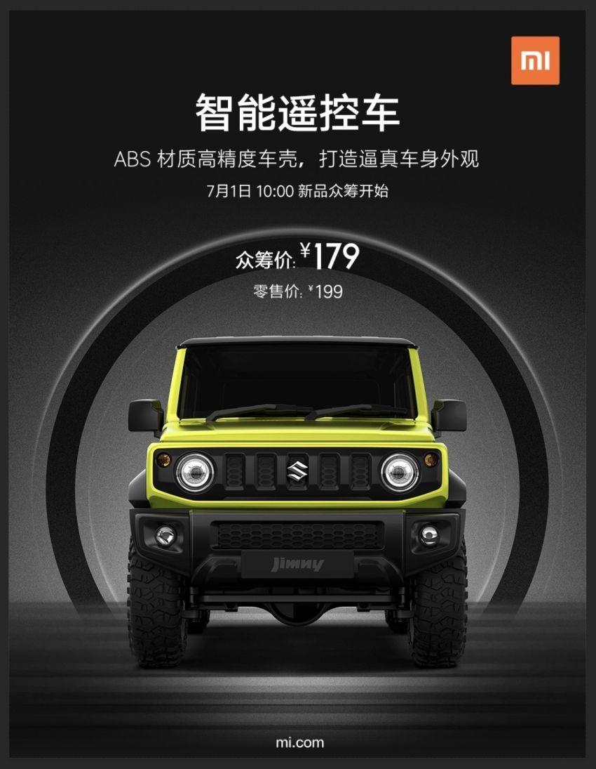 Xiaomi debuts Bluetooth-controlled 1:16 Suzuki Jimny Image #1138695