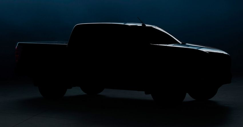 Third-gen Mazda BT-50 teased before June 17 debut Image #1128967