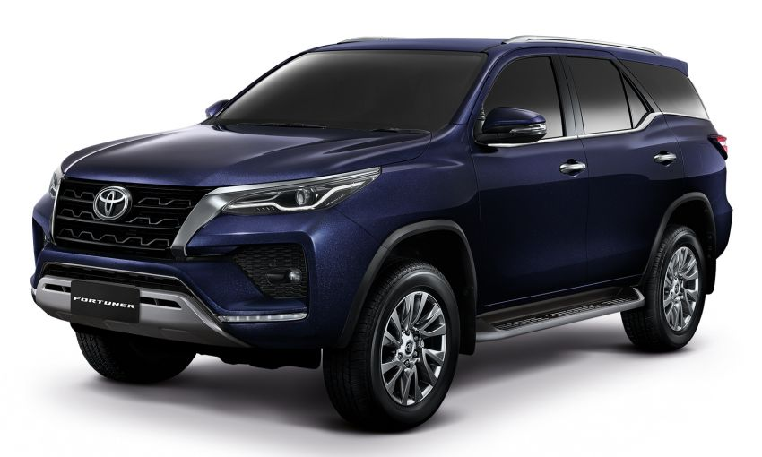 2020 Toyota Fortuner facelift revealed – 2.8L with 204 PS, 500 Nm, Thailand gets Legender with sporty face Image #1126908