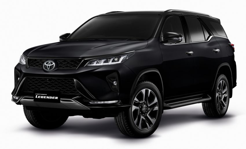 2020 Toyota Fortuner facelift revealed – 2.8L with 204 PS, 500 Nm, Thailand gets Legender with sporty face Image #1126904